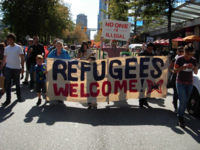 Refugeeswelcomedemo